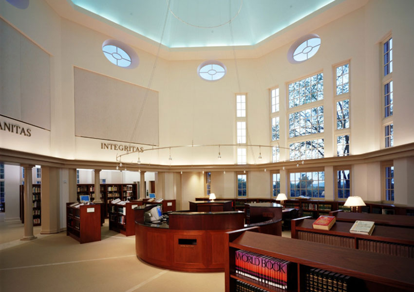 Ann Scott Carell Library The Harpeth Hall School